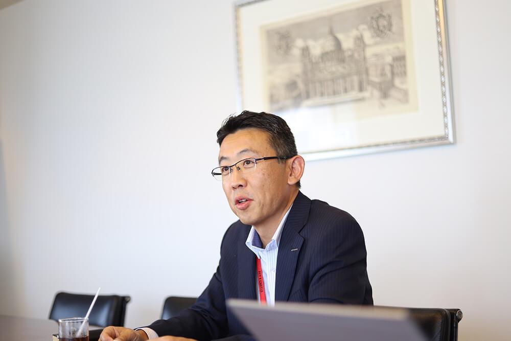 NTTデータのGeppo担当・新井健太郎さん