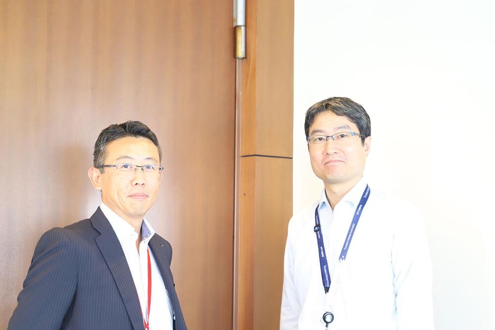 NTTデータのGeppoチームのお二人