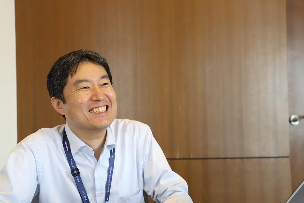 もうひとりのNTTデータのGeppo担当・細田さん